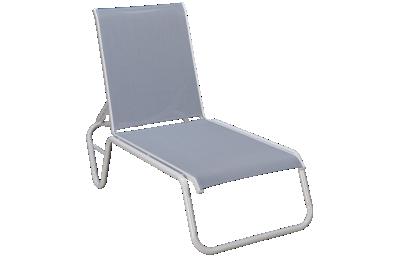 Telescope Casual Furniture Chaise Gardenella Sling Chaise