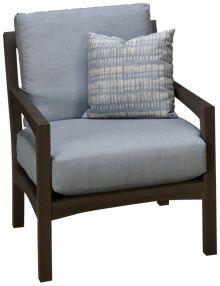 Klaussner Home Furnishings Delray Chair with Cushions