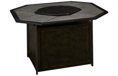 Agio International Madison Gas Octagon Fire Pit