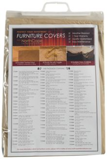 NorthCape Vinyl Covers Fire Pit Cover