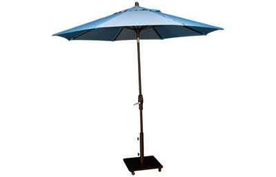 Treasure Garden Canopy 9' Auto Tilt Market Umbrella