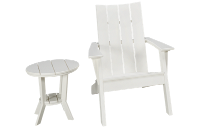 Seaside Casual Furniture Modern 2 Piece Outdoor Set