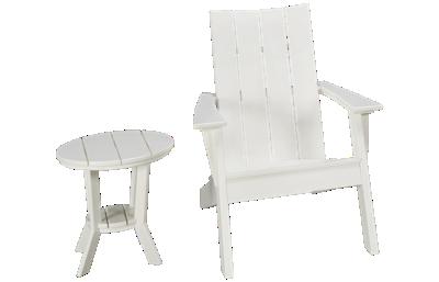Seaside Casual Furniture Modern 2 Piece Outdoor Set