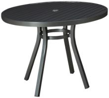 """Lloyd Flanders Lux 42"""" Round Dining Table"""