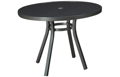"Lloyd Flanders Lux 42"" Round Dining Table"