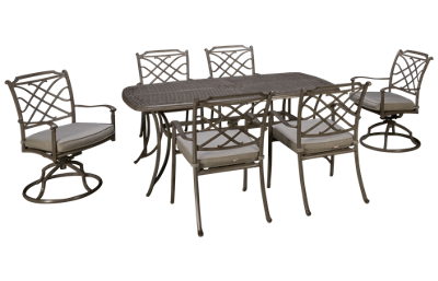 Agio International Sydney 7 Piece Dining Set