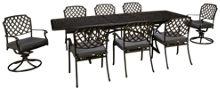 Agio International Madison 9 Piece Dining Set