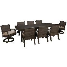 Agio International Trenton 9 Piece Outdoor Dining Set