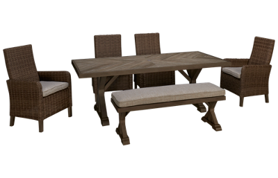 Ashley Beachcroft 6 Piece Outdoor Dining Set