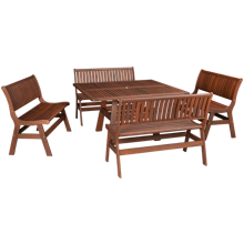 Jensen Leisure Beechworth 5 Piece Outdoor Dining Set