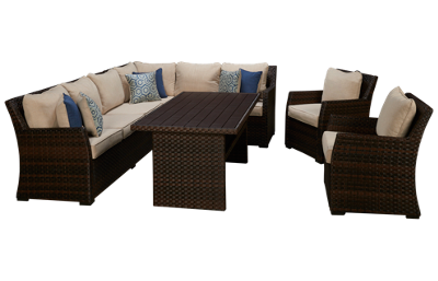 Ashley Salceda 4 Piece Sectional Package
