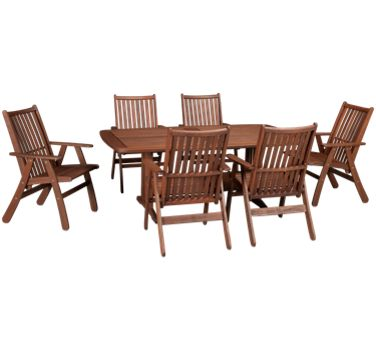Jensen Leisure Belmont Jensen Leisure Belmont 7 Piece Outdoor Dining
