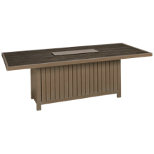 Agio International Lakehouse Fire Pit Dining Table