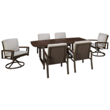 Agio International Avalon 7 Piece Outdoor Dining Set