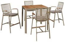 ScanCom Portals 5 Piece Outdoor Dining Set