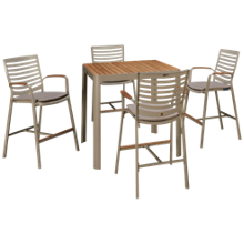 ScanCom Portals 5 Piece Outdoor Dining Set