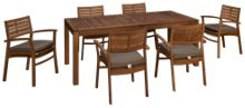 ScanCom Rinjani 7 Piece Outdoor Dining Set