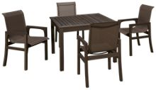 Klaussner Home Furnishings Delray 5 Piece Outdoor Dining Set
