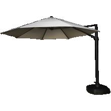 Treasure Garden Umbrellas 11.5' Octagon Cantilevered Umbrella and Base