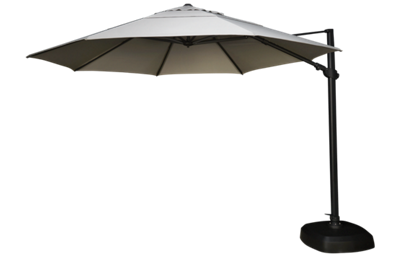 Treasure Garden Umbrellas 11.5' Octagon Cantilevered Umbrella and Base