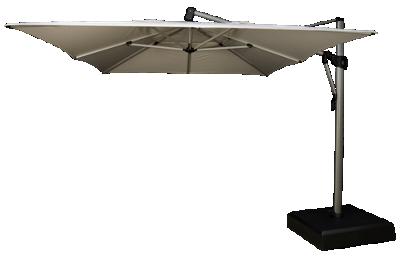 Treasure Garden 10' x 13' Rectangular Cantilevered Umbrella