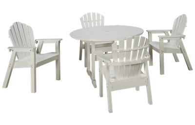 Seaside Casual Furniture Salem 5 Piece Outdoor Dining Set