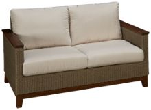 Jensen Leisure Coral Loveseat with Cushion