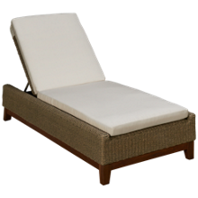 Jensen Leisure Coral Chaise Lounge with Cushion