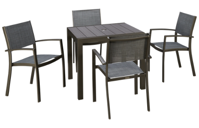ScanCom Calgary 5 Piece Outdoor Dining Set