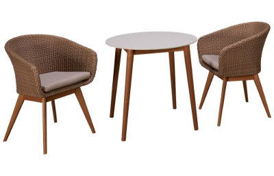 ScanCom Montreux 3 Piece Dining Set