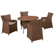 ScanCom Martinique 5 Piece Dining Set