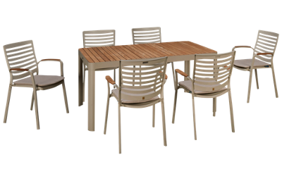 ScanCom Portals 7 Piece Outdoor Dining Set
