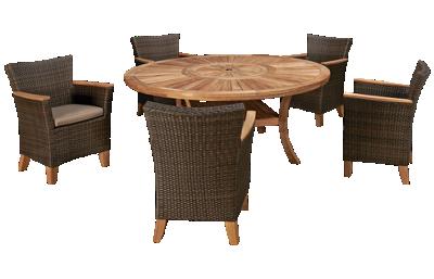ScanCom Komodo 6 Piece Outdoor Dining Set