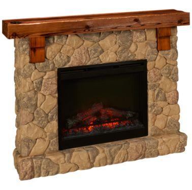 Pleasing Dimplex Fieldstone Fireplace Download Free Architecture Designs Scobabritishbridgeorg