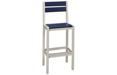 Seaside Casual Furniture Fusion Cafe Bar Height Dining Chair