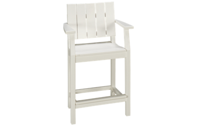"Seaside Casual Furniture Modern 33"" Balcony Arm Chair"