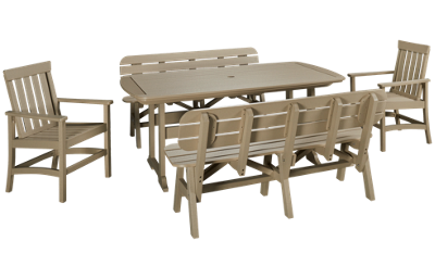 Seaside Casual Furniture Portsmouth 5 Piece Outdoor Dining