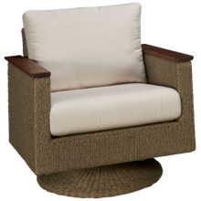 Jensen Leisure Coral Swivel Rocker with Cushion