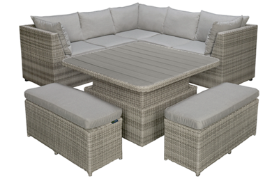 ScanCom Aruba 6 Piece Outdoor Lounge Set