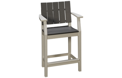 Seaside Casual Furniture Modern Balcony Arm Chair with