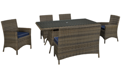 NorthCape Bainbridge 6 Piece Outdoor Dining Set