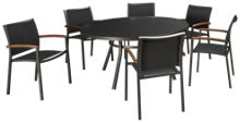 Lloyd Flanders Lux 7 Piece Outdoor Dining Set