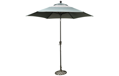Agio International Melbourne Umbrella with Base