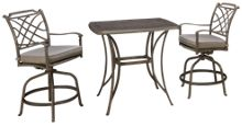 Agio International Sydney 3 Piece Outdoor Dining Set