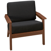 Seaside Casual Furniture Aura Dex Chair with Cushion