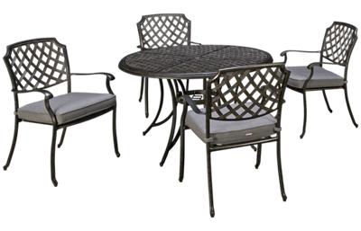 Agio International Madison 5 Piece Outdoor Dining Set