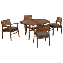 ScanCom Padang 5 Piece Outdoor Dining Set