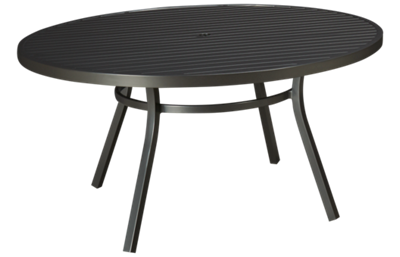 "Lloyd Flanders Lux 60"" Round Dining Table"