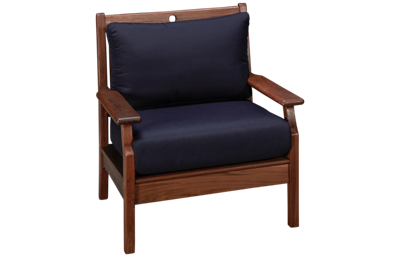 Jensen Outdoor Opal Lounge Chair with Cushion
