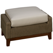 Jensen Leisure Coral Ottoman with Cushion